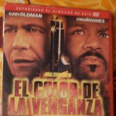 Cine: DVD EL COLOR DE LA VENGANZA. Lote 194997156