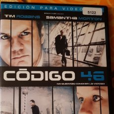 Cine: DVD CODIGO 46. Lote 195000981