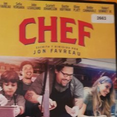 Cine: DVD CHEF. Lote 195014032