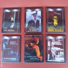 Cine: LOTE 6 DVD MICHAEL CAINE PRECINTADAS. Lote 195018510