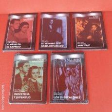 Cine: LOTE 5 DVD HITCHCOCK PRECINTADOS. Lote 195018735