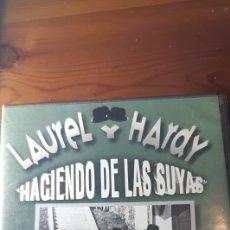 Cine: PELICULA CLASICA DVD LAUREL Y HARDY,HACIENDO DE LAS SUYAS,1933. Lote 195029796