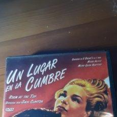 Cine: PELICULA CLASICA DVD UN LUGAR EN LA CUMBRE,1959. Lote 195030425