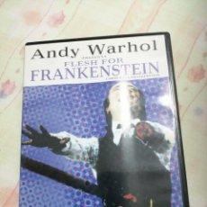 Cine: DVD FRANKENSTEIN COMO NUEVA EXCELENTE ESTADO. Lote 195034563