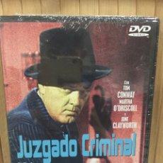 Cine: JUZGADO CRIMINAL [ DVD ] - PRECINTADO -. Lote 195042976