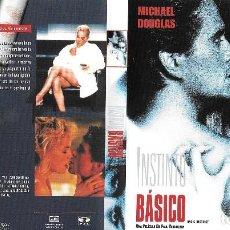 Cine: INSTINTO BÁSICO - PAUL VERHOEVEN. Lote 195057326