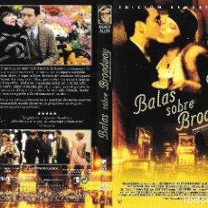 Cine: BALAS SOBRE BROADWAY - WOODY ALLEN - EDICIÓN REMASTERIZADA. Lote 195057416