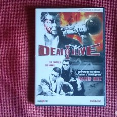 Cine: DEAD OR ALIVE DVD TAKASHI MIIKE ED ALQUILER BUEN ESTADO TARANTINO. Lote 195062507