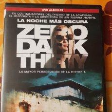 Cine: DVD ZERO DARK. Lote 195062776