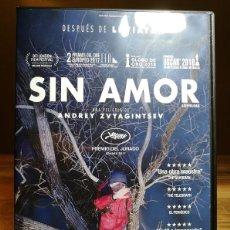 Cine: LOVELESS : SIN AMOR DVD 2017 RUSIA DRAMA. SECUESTROS / DESPARICIONES - MARYANA SPIVAK ALEKSEY ROZIN. Lote 195062826