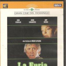 Cine: LA FURIA. KIRK DOUGLAS. DVD. Lote 195063970
