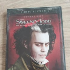 Cine: DVD SOLO EN V.O. DE SWEENEY TODD. Lote 195065732