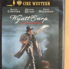 Cine: WYATT EARP (DVD). Lote 195077031