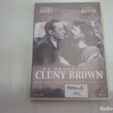 Cine: (1-B3) - 1 X DVD / EL PECADO DE CLUNY BROWN - JENNIFER JONES, CHARLES BOYER / ERNST LUBITSCH. Lote 195077153
