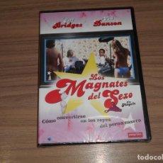 Cine: LOS MAGNATES DEL SEXO DVD JEFF BRIDGES TED DANSON NUEVA PRECINTADA. Lote 235174925