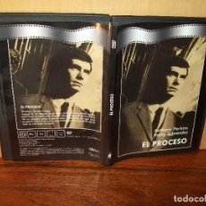 Cine: EL PROCESO - ANTHONY PERKINS - ROMY SCHNEIDER - DIRIGE ORSON WELLES - DVD CAJA FINA . Lote 195094785