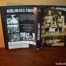 Cine: REBELION EN EL FUERTE - ROBERT DOUGLAS - DIRIGIDA POR RAOUL WALSH - DVD EN BLANCO Y NEGR. Lote 195095016