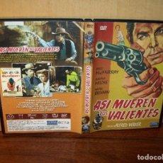 Cine: ASI MUEREN LOS VALIENTES -FRED MACMURRAY - DIRIGIDA POR ALFRED WERKER - DVD . Lote 195095077