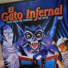 Cine: EL GATO INFERNAL DVD. Lote 195102005