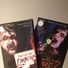 Cine: NIGHT OF THE DEMONS 1 Y 2 DVD. Lote 195102052