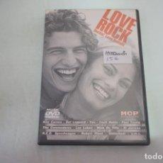 Cine: (16-B) - 1 X DVD / LOVE ROCK - ROCKIN´ LOVE BALLADS . Lote 195111087