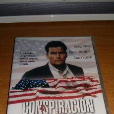 Cine: CONSPIRACION EN LA SOMBRA (CHARLIE SHEEN) DESCATALOGADA. Lote 195111458