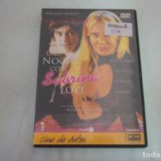 Cine: (16-B) - 1 X DVD / UNA NOCHE CON SABRINA LOVE - CECILIA ROTH / ALEJANDRO AGRESTI. Lote 195120067