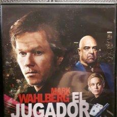 Cine: EL JUGADOR - 2015 - DVD - ORIGINAL - MARK WAHLBERG - BRIE LARSON - JOHN GOODMAN - NO CORREOS. Lote 195120163