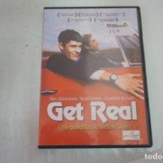 Cine: (16-B) - 1 X DVD / GET REAL - BEN SILVERSTONE, BRAD GORTON / SIMON SHARE. Lote 195122163