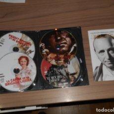 Cinema: PACK 5 DVD EL REY DEL TABACO - LA CARGA DE LA BRIGADA LIGERA - LA FUERZA DE LAS ARMAS ETC. Lote 250107270