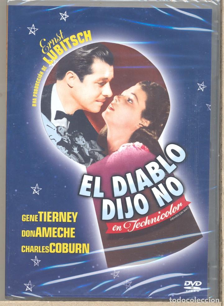 EL DIABLO DIJO NO DVD ( LUBITSCH) EL MUJERIEGO QUE DESPIERTA EN EL INFIERNO Y ES JUZGADO SEVERAMENTE (Cine - Películas - DVD)