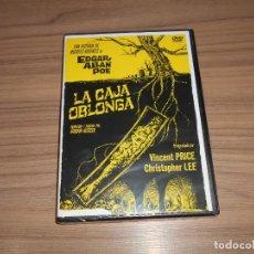 Cine: LA CAJA OBLONGA DVD VINCENT PRICE CHRSITOPHER LEE NUEVA PRECINTADA. Lote 195148273