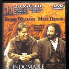 Cine: DVD EL INDOMABLE WILL HUNTING - ROBIN WILLIAMS / MATT DAMON. Lote 195148758