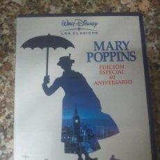 Cine: DVD MARY POPPINS EDICION ESPECIAL 40 ANIVERSARIO. Lote 195153203