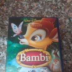 Cine: DVD BAMBI. Lote 195153477