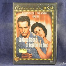 Cine: LA GATA SOBRE EL TEJADO DE ZINC - DVD . Lote 195167988