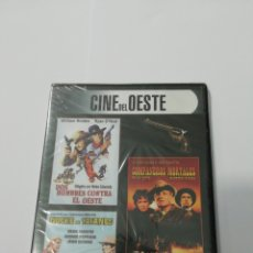 Cine: (DVS 21) CINE DEL OESTE, DOS HOMBRES CONTRA- DVD SEGUNDA MANO TAPA FINA. Lote 195188355
