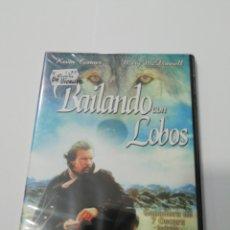 Cine: (DVS 21) BAILANDO CON LOBOS - DVD SEGUNDA MANO TAPA FINA. Lote 195188620