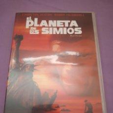 Cine: DVD. EL PLANETA DE LOS SIMIOS. CHARLTON HESTON.. Lote 195196400