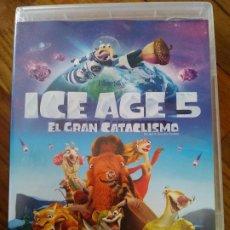 Cine: ICE AGE 5 EL GRAN CATACLISMO [DVD]. Lote 195196475