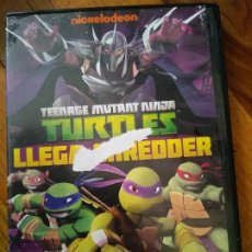 Cine: DVD TEENAGE MUTANT NINJA TURTLES - LLEGA SHREDDER LAS TORTUGAS NINJA MUTANTES. Lote 195200803