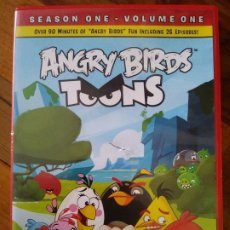 Cine: ANGRY BIRDS TOONS: SEASON 1 - VOLUME 1 [DVD] 26 EPISODIES. Lote 195200911
