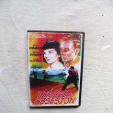Cine: DVD - TRAGICA OBSESION CON JEAN SIMMONS , TREVOR HOWARD . Lote 195217236
