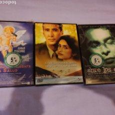 Cine: LOTE PENELOPE CRUZ 3 PELICULAS DVD . ABRE LOS OJOS , AMOR PERJUDICA SERIAMENTE LA SALUD , MANDOLINA. Lote 195217551
