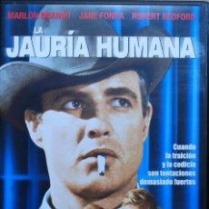 Cine: LA JAURÍA HUMANA (ARTHUR PENN, 1966, MARLON BRANDO, JANE FONDA, ROBERT REDFORD) (VER FOTO ADICIONAL). Lote 195218995