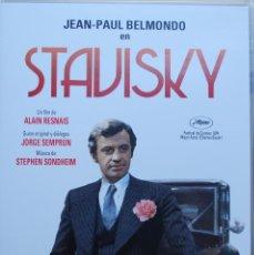 Cine: STAVISKY (ALAIN RESNAIS, 1974, JEAN-PAUL BELMONDO, CHARLES BOYER, ANNIE DUPEREY) (FOTO ADICIONAL). Lote 195219457
