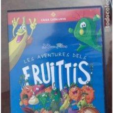 Cine: DVD LES AVENTURES DELS FRUITTIS. Lote 195243053