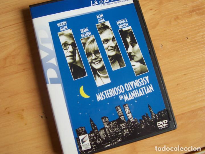 MISTERIOSO ASESINATO EN MANHATTAN, PELICULA DVD CON WOODY ALLEN DIANE KEATON ALAN ALDA (Cine - Películas - DVD)