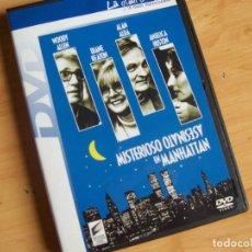 Cine: MISTERIOSO ASESINATO EN MANHATTAN, PELICULA DVD CON WOODY ALLEN DIANE KEATON ALAN ALDA. Lote 195244847