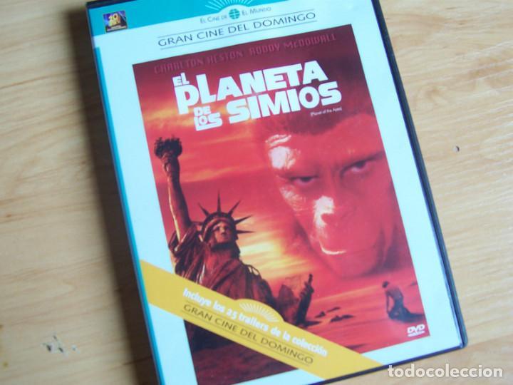 EL PLANETA DE LOS SIMIOS. PELICULA DVD DE F J SCHAFFNER. CHARLTON HESTON 1968 (Cine - Películas - DVD)